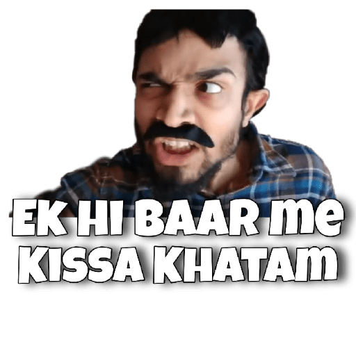 Bhuban Bam Bb Ki Vines Tag your those double meaning friends. sticker ly
